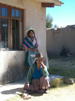 Cholitas Bolivianas